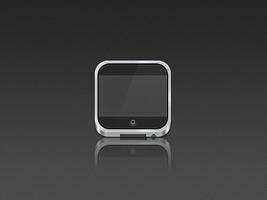 iPod icon by de-rogh