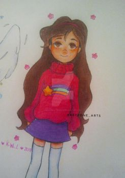 Mabel doodle by kellywalters1218