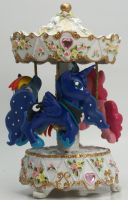 My Little Pony Musical Merry Go Round custom Luna by MadPonyScientist