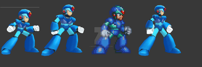 From MHX to MMX4 by xmaverickhunter