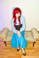 Ariel Sittin Pretty by UsagiHikaru