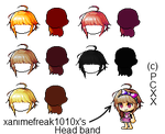 Maplestory Mixed Hairs #7 by PinkCloverXX