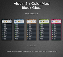 Alduin 2 + Color Mod Bl. Glass by Haven667