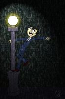Art jam: Sheldon Lee Singing in the rain by G3N3
