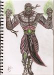 ermac colored by amanda04