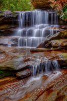 Watery cascades by Kounelli1