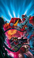 Transformers Wreckers 3 cover by Dan-the-artguy