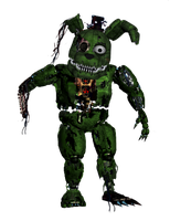 Withered Nightmare Trapspring (gift) by DecimatedMickey