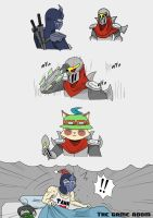 Behind the mask by mickking