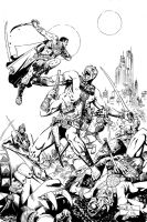 John Carter of Mars inks by ReillyBrown