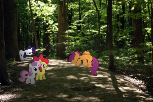 CMC in the forest. by HAchaosagent