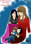 Remake of kuga family fanart by wetochan