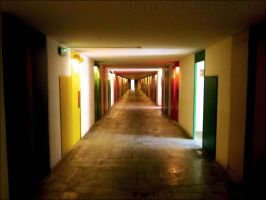 Hallway of Colours by Nanniekoekiepannie