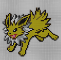 #135 Jolteon by PkmnMc