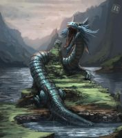 Water Dragon by Raph04art