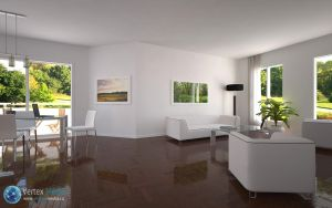 Spacious living room (3D) by lerathel