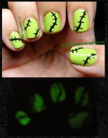 Halloween 2012: Glow Frankenstein! by Cowboy-Slightly