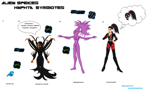 Xnphta Symbiote Concept (Galactic Incursions) by Luckymarine577