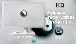 Wallpaper Inlay Label jin jan by CaHilART