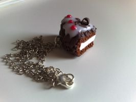 Black Forest Necklace by PinkCakes