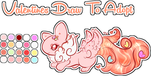 Valentines Draw To Adopt Ginet .:Open:. by Ambercatlucky2