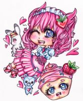 Cupcake Love by CUTE-ChibiMONSTERZ