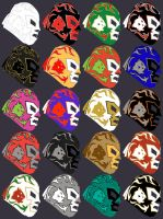 Dr Wagner Masks by DefseOne