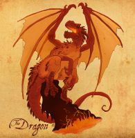 The Dragon by VanOxymore