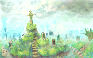 cementery by P-cate