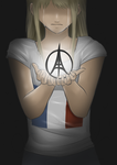 Pray for Paris by Kakty