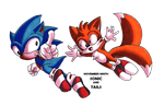November Ninth: Sonic and Tails by ShenTsumi