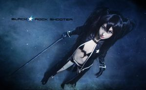 Black Rock Shooter by Ally-bee