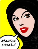 : Mar7ba essa3  - Pop Art- ... by Angel-legnA