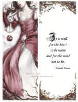 Snow White Bookmark by Achen089