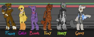 Five Nights at Freddy's by Noxivaga