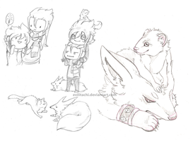 DMPKMN: Cheeb Sketches by evilitachi