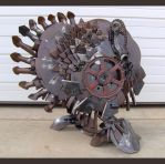 Steel Turkey by Rem-Brent