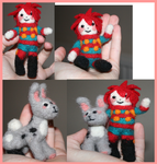 Felting Commission-Examples by Mini-Beast