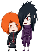 Chibi Madara and Kashi by KASHI-2012