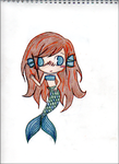 My Chibi Mermaid 1 by RileyMiraluna