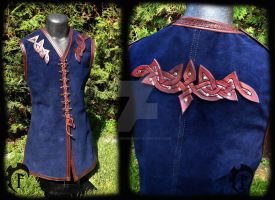 Wedding Celtic vest by Feral-Workshop