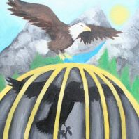 Caged Freedom by girlngreen7