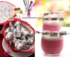 Dragon Fruit n Smoothie by theresahelmer