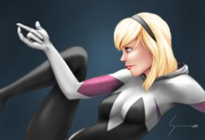 Spider Gwen, Marvel by EverHobbes