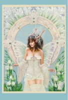 the faery bride print by forestgnome