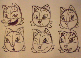 Facial Expressions by Crystal-the-CC