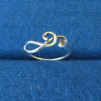 Treble Clef Ring by harlewood