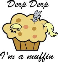 I'm a Muffin by V0JELLY