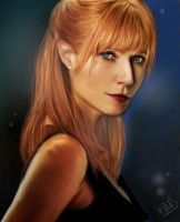 Pepper Potts. by kristenmargina