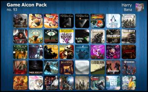 Game Aicon Pack 93 by HarryBana